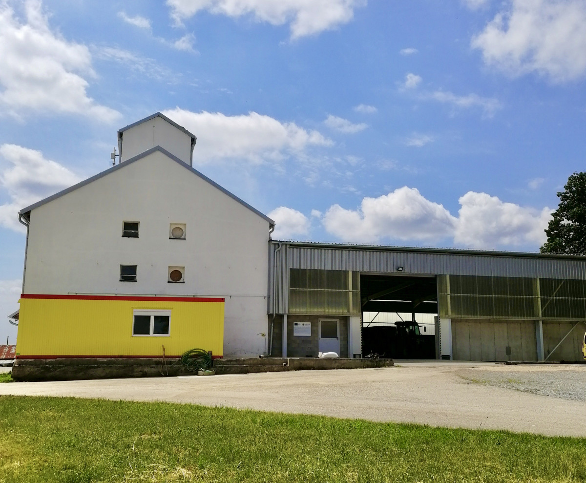 Grain granary Biomila, Slovakia