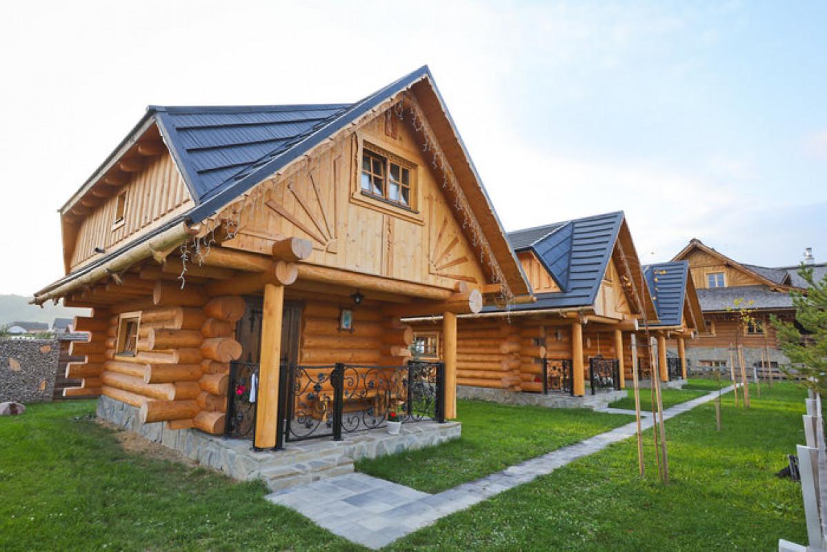 Ferienhäuser, Zbojnicka Koliba, Oravska Jasenica, Slowakei