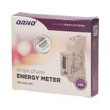 Single-phase electricity meter