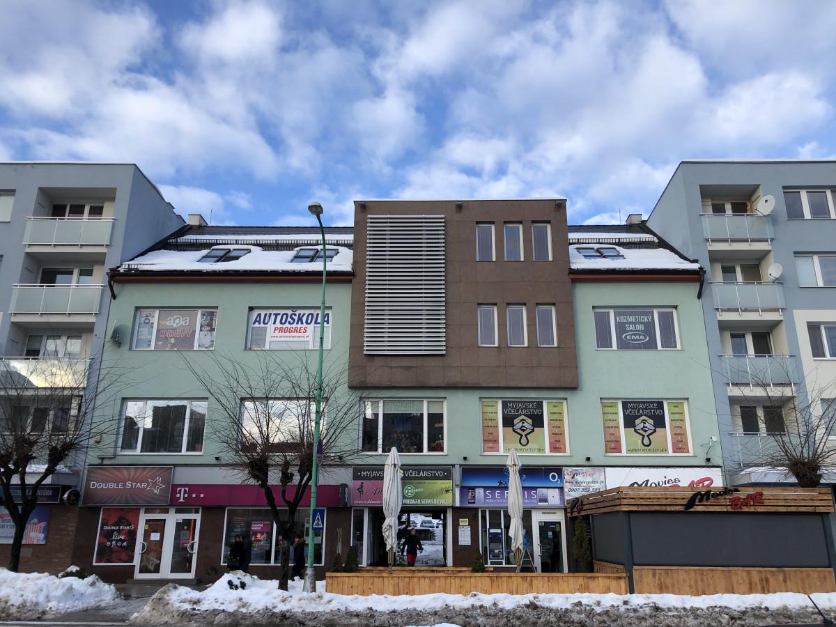 Multifunctional building at Myjava, Slovakia