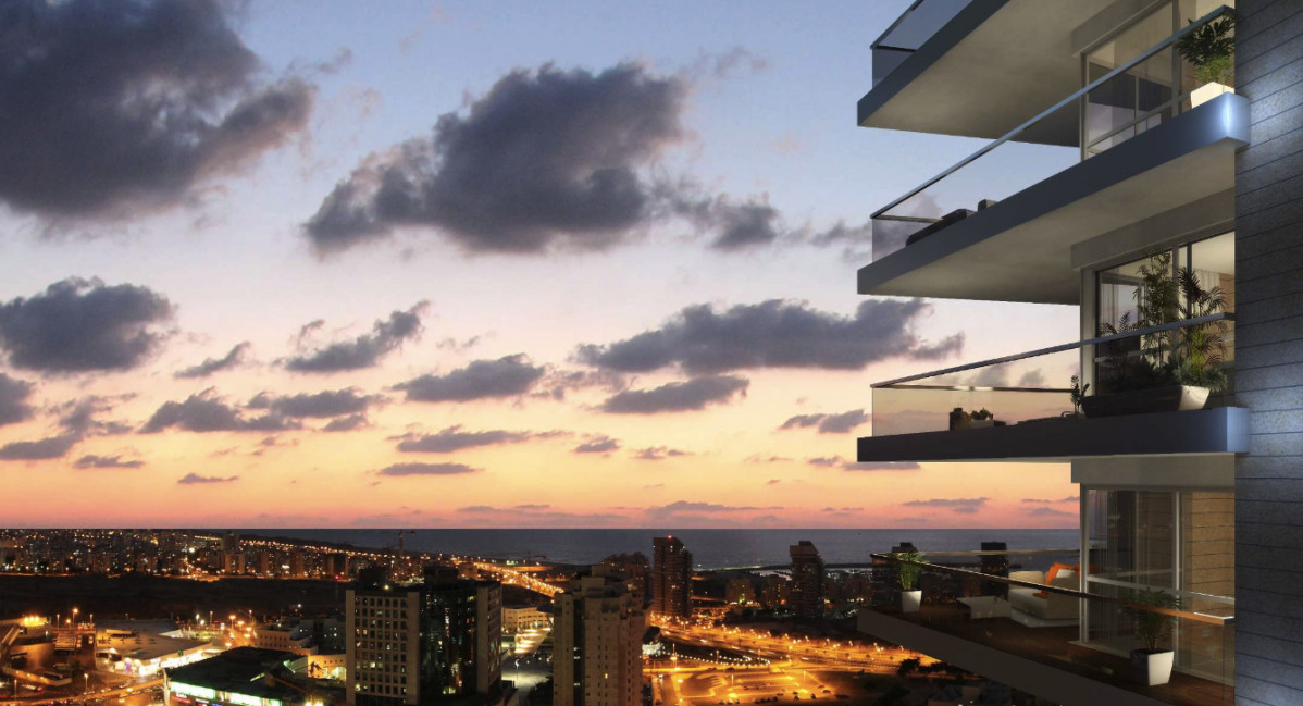 750 appartementen in K-Towers, Ashdod, Israël