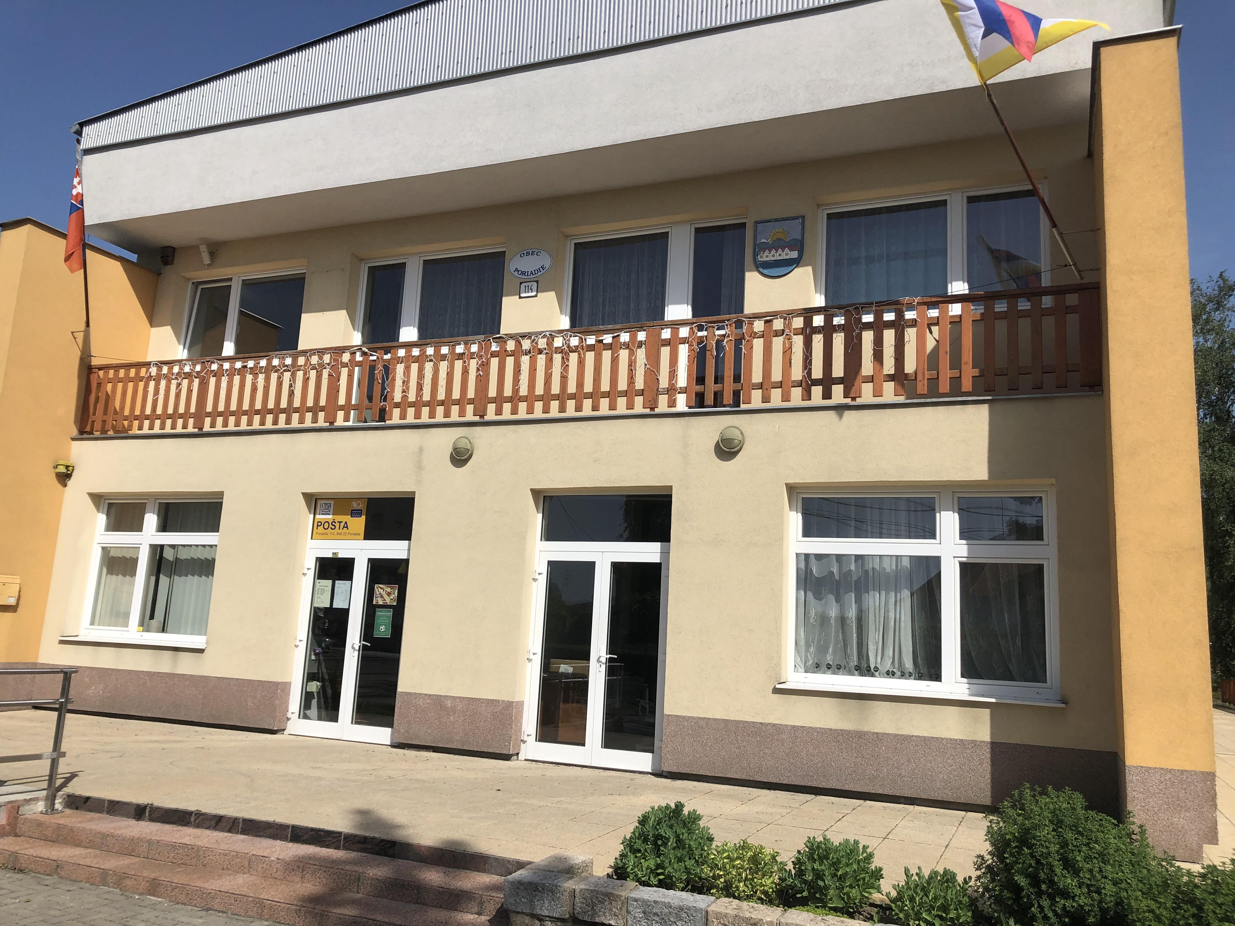 Obecný úrad Poriadie, Slovensko