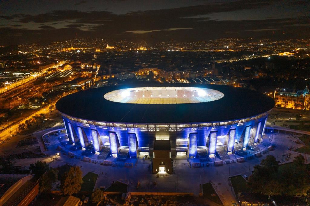 Ferenc Puskas Stadion, Budapest, Ungarn
