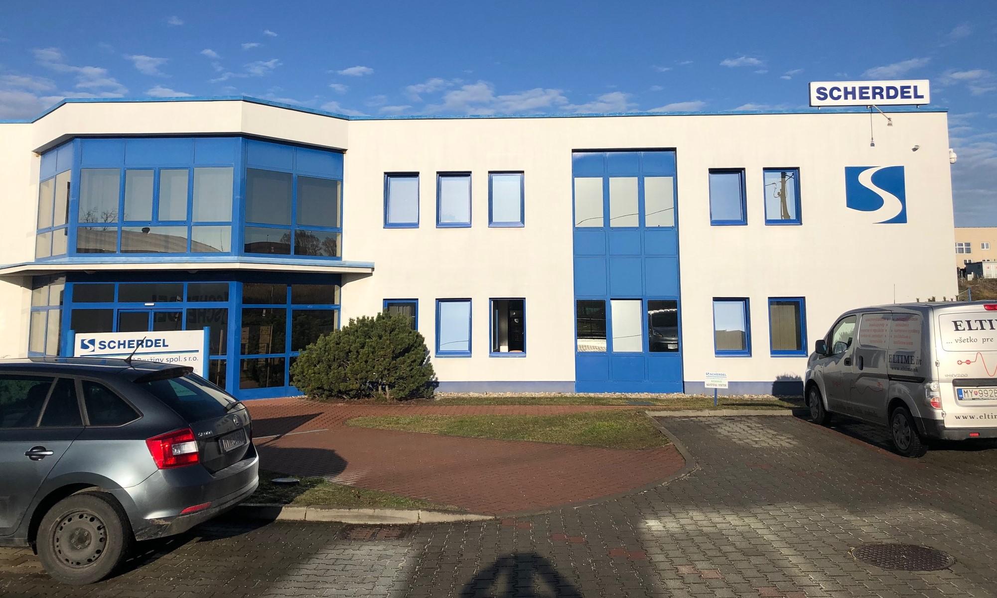 Administratívna budova, Myjava, Slovensko